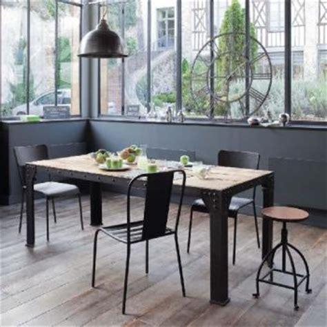 table industrielle maison du monde d 233 co loft et brocante dans toute la maison trucs et deco
