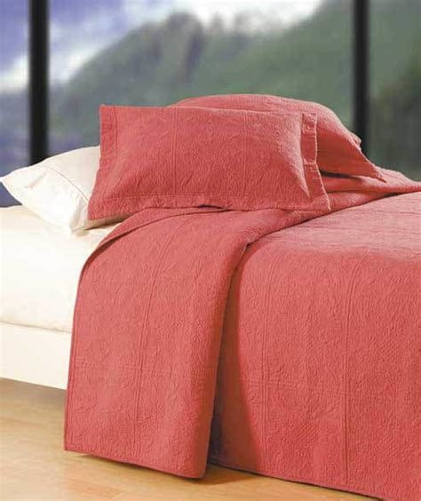 Blush Quilted Matelesse Quilt & Bedding by C&F Enterprises