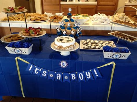 Soccer Themed Baby Shower Ideas by Chelsea Football Themed Baby Shower Baby Luft