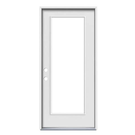 Jeld Wen Door Reviews by Shop Jeld Wen 1 Panel Insulating Lite Right