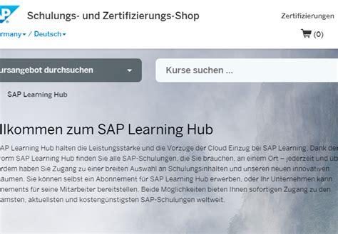sap tutorial hub sap bietet training durch partner channelbiz de