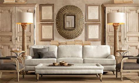 restoration hardware living rooms restoration hardware living room symmetry pinterest