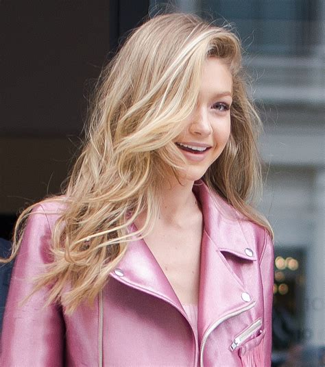 gigi hadid hair color gigi hadid s hair color is always changing an
