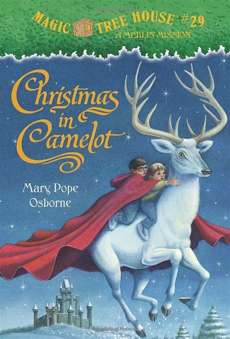 magic tree house christmas in camelot books pinterest