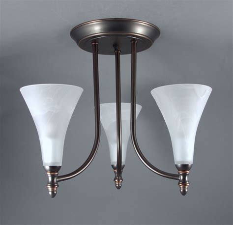 Rv Interior Lighting Fixtures Gustafson Rv Chandelier Weathered Copper 3 Arm Frosted White Glass Gustafson Lighting Rv