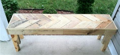 wood pallet benches wooden pallet bench plans recycled things