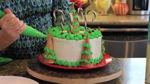 decorating christmas tree cake youtube