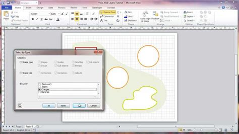 tutorial on visio visio 2010 layers tutorial
