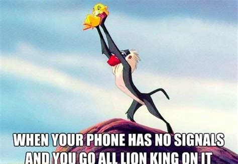 Lion King Cell Phone Meme - going all lion king on that shit funny pictures quotes