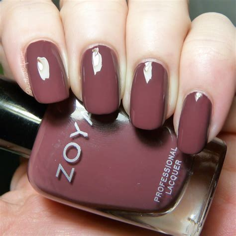 best zoya colors my thoughts on marsala pantone s color of the year 2015