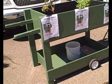 Grow Vegetables Anywhere With The Garden On Wheels A Mobile Vegetable Garden