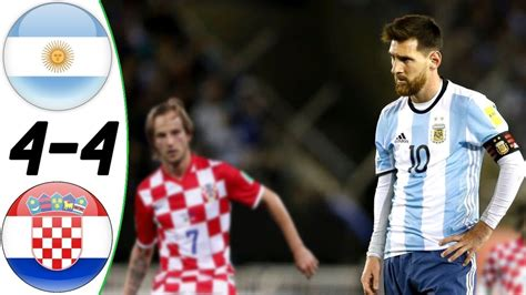 argentina vs croasia argentina vs croatia 4 4 all goals extended highlights