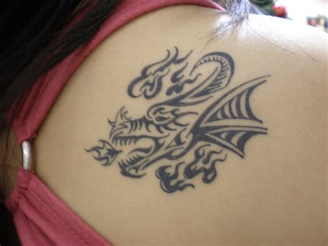 tribal dragon tattoo meaning meanings tribal