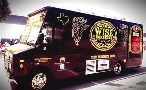 bbq food truck design wise barbecue