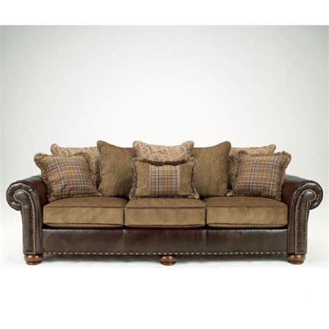 sofa best deals signature design by ashley briar place antique sofa best