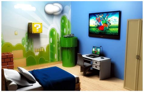 super mario bedroom mario bros bedroom by luiggi marchetti photoshop creative