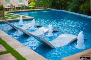 modern swimming pool modern swimming pool with private backyard by aquaterra