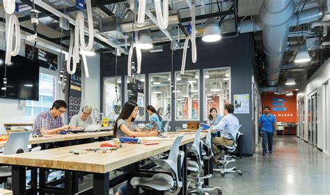 Industrial Interior Design Ideas by Murray Hall Makerspace Amp Lab Up Fit Bhdp Architecture