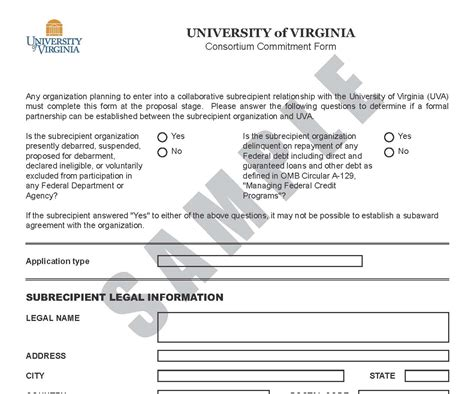 Forms Nih Consortium Agreement Template