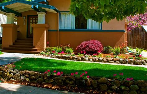 Garden Ideas Front Of House Landscaping Ideas For Front Of House In Shade Studio Design Gallery Best Design