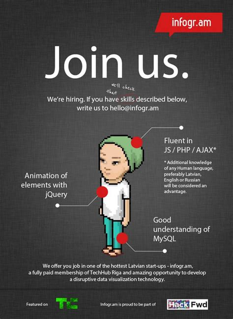 templates for advertising jobs clear quot we re hiring quot poster recruitment pinterest