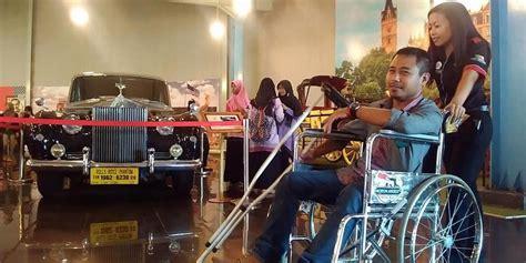 Kursi Roda Di Tasikmalaya ramah disabilitas museum angkut sediakan kursi roda malangvoice