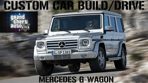 customized g wagon gta 5 custom car build drive 26 mercedes g wagon