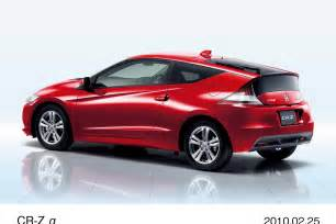 Honda Crz Bhp Honda Cr Z History Of Model Photo Gallery And List Of