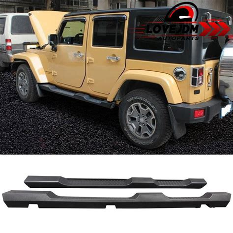 Jeep Step Bars Fit For 2007 2016 Jeep Wrangler Jk Unlimited Running Board