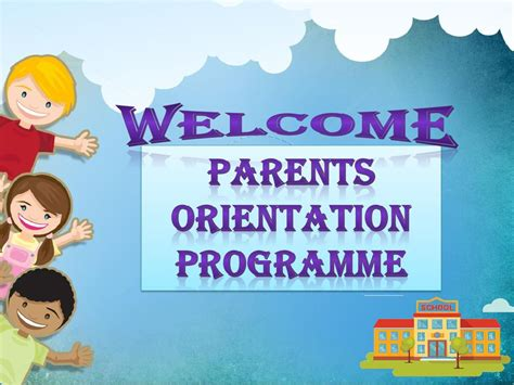 Orientation Programme For Mba Students Ppt by Parents Orientation Programme Ppt