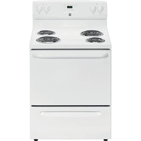 Kenmore Stove by Kenmore 93022 4 2 Cu Ft Electric Range White