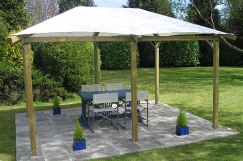 fixed gazebo pavilion gazebo range ayrshire log cabins
