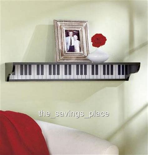 musical home decor wooden musical themed piano guitar musical notes wall