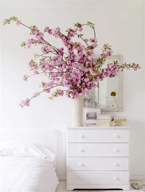 Cherry Blossom Home Decor | 30 delicate cherry blossom d 233 cor ideas for spring digsdigs