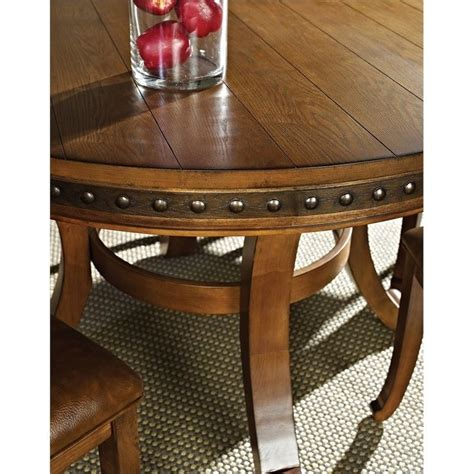 Silver Kitchen Table by Steve Silver Company Ashbrook Dining Table In Oak