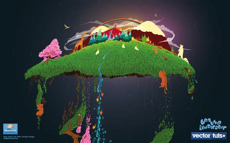 chagne wallpaper organic climate changing wallpaper by ben the illustrator