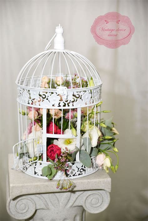 17 Best images about Bird Cage Floral Design on Pinterest