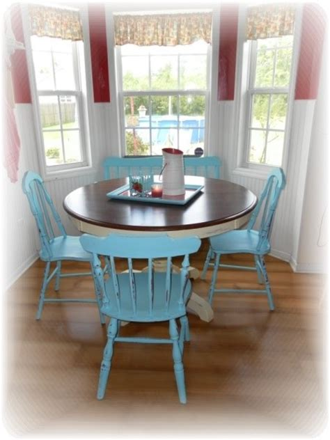 Cottage Style Kitchen Furniture Cottage Style Kitchen Table And Chairs