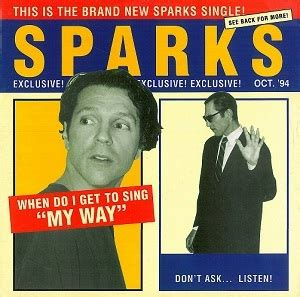 Where Do I Get My Record Sparks When Do I Get To Sing My Way Vinyl Record 12 Inch Logic Loc 151