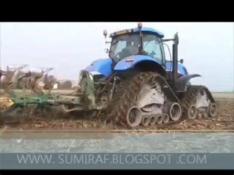 cadenas para ruedas de tractor sumiraf cadenas goma para tractores con ruedas youtube