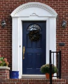Blue Exterior Door And Style A To Z F D Front Door Inspiration