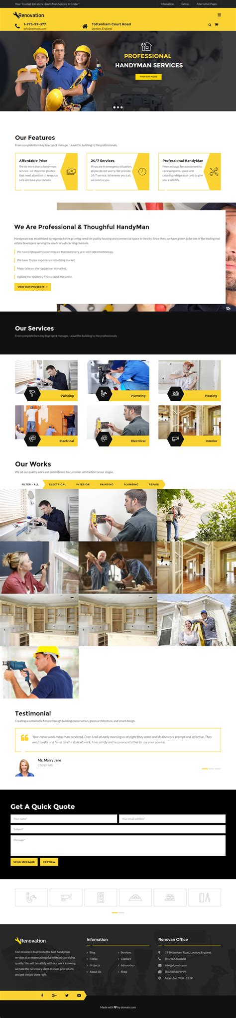renovation theme 40 best drupal 8 themes and templates 2017 responsive miracle
