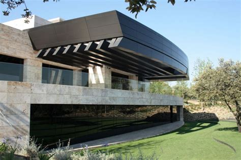 modern zen house design in madrid spain modern house
