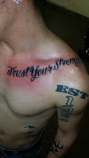 Trust Your trust your strength tattoos strength and