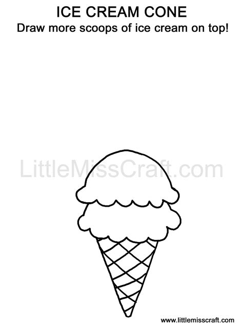 dltk ice cream coloring pages free coloring pages of ice cream scoops
