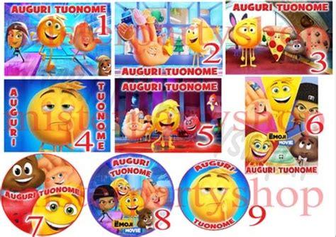 emoji il film cialda ostia per torte emoji il film