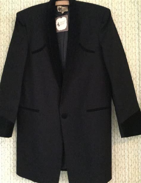 drape jacket teddy boy traditional teddy boy drape jacket black with black