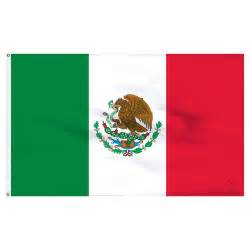 mexican colors flag mexico 3x5ft flag with pole hem only banner