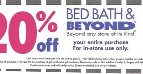 coupons bed bath beyond printable bed bath and beyond coupons print 2013 bed bath and
