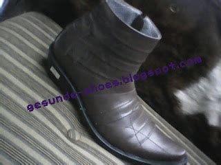 Zaman Now Sepatu Murah Boots Caterpillar Warna Hitam Licin New gesunde shoes nason 1702